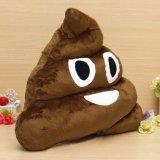 6 polegadas Funny Poop Emoji Pillow Plush Toy