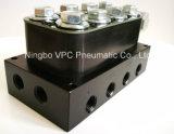 Valvola molteplice del blocchetto della sospensione dell'aria di sistema di Airride della sospensione dell'aria dell'unità dell'elettrovalvola a solenoide di Vu4 4-Corner