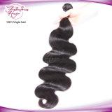 Волос девственницы объемной волны 100% волосы Unprocessed волнистые перуанские людские сырцовые