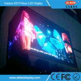 El panel de visualización a todo color al aire libre de LED de la publicidad P10 DIP346