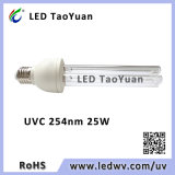 LED 25W 254 nm UVC lámpara germicida