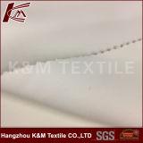 Qualité deux couches de sergé de blanc du tissu 100% de Polyeste