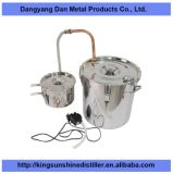18liter 5gallon si dirigono il distillatore dell'acqua dell'alcool del controsoffitto di uso da vendere