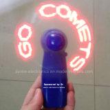 인쇄되는 로고를 가진 승진 선물 소형 소형 LED 가벼운 팬 (3509)