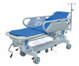 AG-HS002 con dos pasamanos de metal ABS manual del paciente Ambulancia Camilla