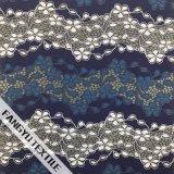 Tessuto variopinto del merletto del reticolo della frangia per il vestito