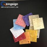 Fournisseur acrylique de feuille des graines en bois d'escompte