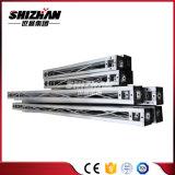 Piccolo bullone di alluminio quadrato di Shizhan 100*100mm/tubo Fascio-Rotondo della vite
