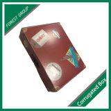 Коробка лоснистого картона офсетной печати слоения бумажная