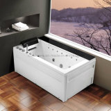 Rectangle Acrylic Massage SPA Bathtub met LED Light (K1285)