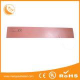 Placa quente elétrica pegajosa de borracha de silicone do elemento de aquecimento