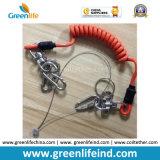Unità ritrattabile delle forti corde arrotolate del collegare per gli strumenti sicuri
