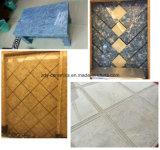 Del hogar azulejo de piedra natural del mármol lleno de la carrocería de la puerta hacia fuera