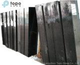 セリウム及びISO9001 (CB)の4mm-10mm染められた黒の浮遊物の板ガラス