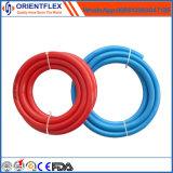 Color amarillo flexible con el manguito de aire del PVC del precio bajo