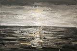 Peinture à l'huile avec Vue sur Mer pour la décoration
