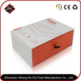 Kundenspezifischer Firmenzeichen-Silk Bildschirm-Quadrat-Geschenk-Papierverpackenkasten