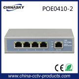 5 сила переключателя 48V Poe портов для камер IP Hikvision/Dahua (POE0410-2)