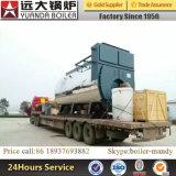 10ton 1.25MPaか1.6MPa産業自動的に中国の有名なブランドの天燃ガスおよびディーゼル石油燃焼の蒸気ボイラ