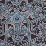 Het in reliëf gemaakte Zelfklevende Behang van pvc van de Bloem