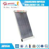 Calentador de agua solar a presión de los tubos de cristal del vacío