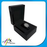 Rectángulo de reloj negro mate básico del regalo de la recepción de la pedido del OEM