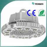 alta luz de la bahía de 100W LED, alto industrial ligero de la bahía LED