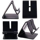 Supporto astuto del ridurre in pani del telefono del basamento da tavolino di alluminio del basamento del telefono delle cellule