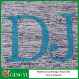 Le prix bas d'usine de Qingyi et la qualité grande du scintillement de vinyle de transfert thermique de beauté pour s'use