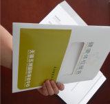 Bolso de encargo del sobre del almacenaje de fichero impreso