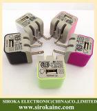 Soem-Paket 5V 1000mA wir Wand-Aufladeeinheits-mobiler Adapter USB zum Wechselstrom-Konverter-Stecker für Galaxie S2 Samsung-I9100