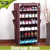 Gabinete portátil de canto barato do organizador da sapata do armazenamento grande da sapatilha