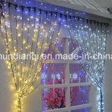 装飾のためのLEDのカーテン・ウォールライトストリング