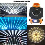 7r 230W 3 in 1 Sharpy beweglichem Hauptpunkt-Stadiums-Licht
