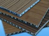 El panel de aluminio del panal