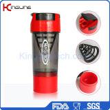 600mlサイクロンのコップのフィルターおよび容器(KL-7008)が付いているプラスチックシェーカーのびん