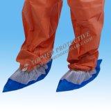 Tampa não tecida da sapata do carregador do PE PP+CPE PP+PE do CPE PP do plástico