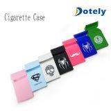 Zigaretten-Silikon-Kasten-Zigaretten-Kasten-schützender Satz-Deckel