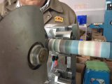 Máquina que raja del corte automático de la cinta adhesiva para la venta
