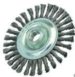 Roue plate de fil d'acier de noeud de torsion pour le polonais