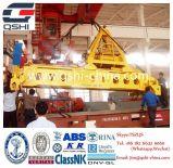 Распространитель гидровлического телескопичного контейнера поднимаясь для оффшорного крана