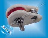 Puleggia di ceramica messa in gabbia del preventer di salto del collegare (NT007) per la guida di collegare
