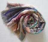 Première Madame spéciale de vente Scarf (HWBV09) de polyester de Flourish