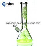 Tubo di acqua di vetro della coppa variopinta per tabacco (ZY004)