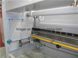 Freio servo da imprensa do CNC de Wc67k 100t/4000 para a máquina de dobra da placa de metal