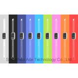 Vierkant Slim Horloge met Lagere LCD van het Energieverbruik Vertoning I7