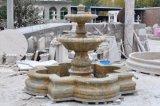 Fuente del euro de la fuente del granito
