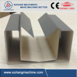 Roulis de panneau de frontière de sécurité de palissade de construction en métal formant la machine