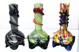 """8 """" Dreieck-niedrige weiches Glas-Wasser-Rohre für das Rauchen"""