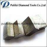 Het Graniet die van de diamant Gelijk Segment voor de Scherpe Hulpmiddelen van de Mijnbouw snijden